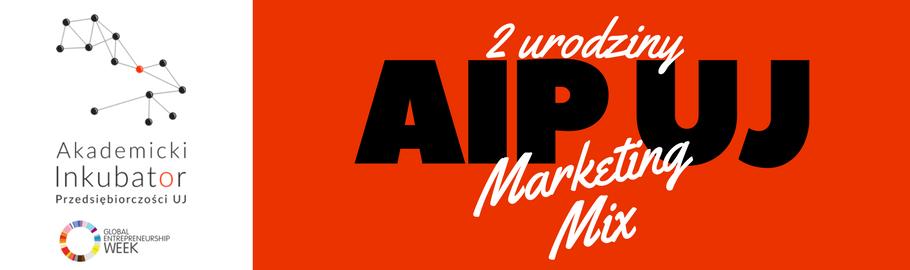 Urodziny AIP UJL Marketing Mix
